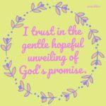 Affirmation: God's Promise
