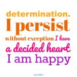 Affirmation: Decided Heart
