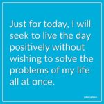 Affirmation: Live the Day Positively