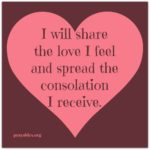 Affirmation: Share the Love