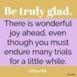 Bible: 1 Peter 1:6