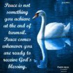 Bible: Psalm 29:11
