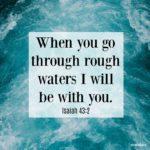 Bible: Isaiah 43:2
