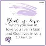 Bible: 1 John 4:16