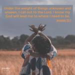 Bible Affirmation: Jeremiah 33:3