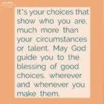 Blessing: Choice is Yours