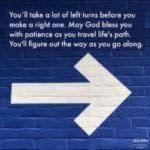 Blessing: Right Turn