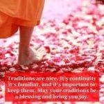 Blessing: Traditions