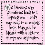 Blessing: Hope and Aspiration