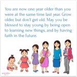 Blessing: Grow Older, Stay Young