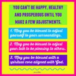 Blessing: Adjustments