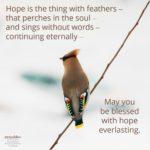 Blessing: Hope Everlasting