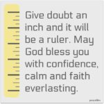 Blessing: No Doubt