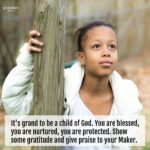 Blessing: Praise to Your Maker