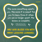 Blessing: Lesson Completed