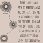 Blessing: One Life