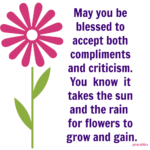 Blessing: Grow and Gain