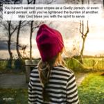 Blessing: Spirit to Serve