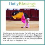 Blessing: Passion on Your Side