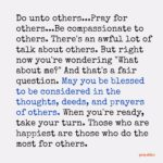 Blessing: Others