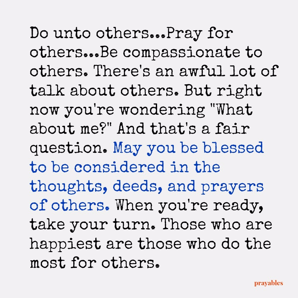 Blessing: Others – Prayables