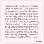 Prayer: Love Prayer to God