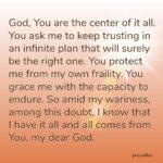 Prayer: Center of it All