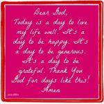 Prayer: Days Like This