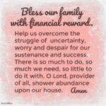 Prayer: Abundance Upon Our House