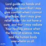 Caregiver's Prayer