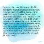 Prayer: Make My People Smile