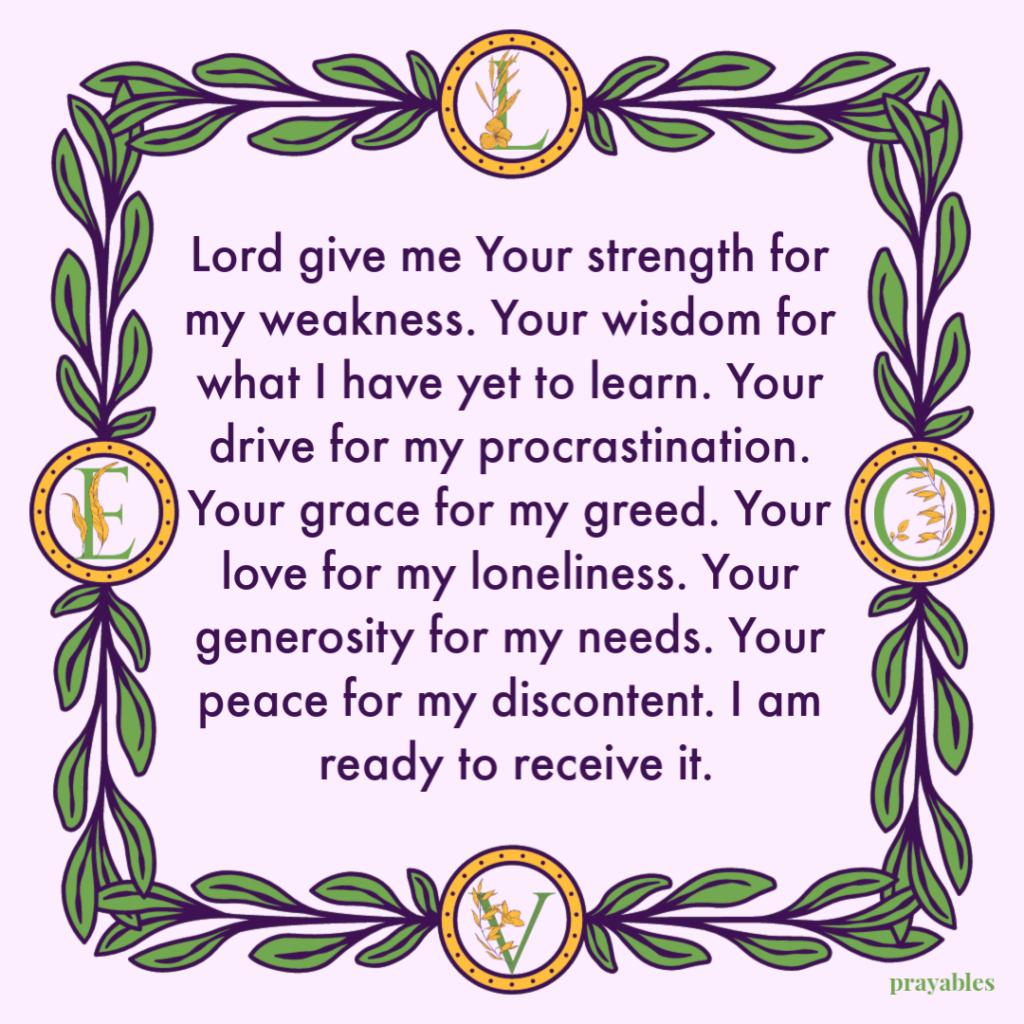 Prayer: Yours – Prayables