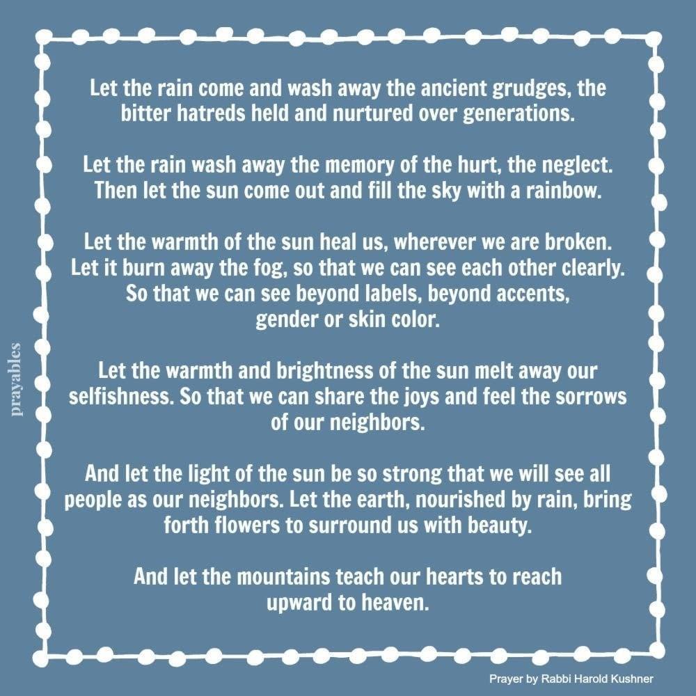 Prayer: Let it Come – Prayables