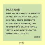 Prayer: Grace in Growing