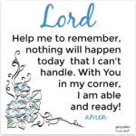 Prayer: Able and Ready