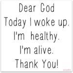 Prayer: Thanks God