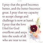 Prayer: I Pray That…