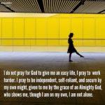 Prayer: On My Own, Not Alone