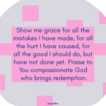 Prayer: Compassionate God