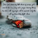 Prayer: Wing and a Prayer