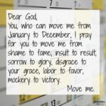 Prayer: Move Me