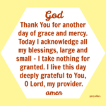 Prayer: Another Day