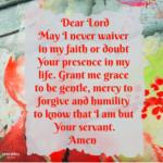 Prayer: Unwavering Faith