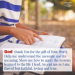 Prayer: God's Word
