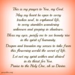 Prayer: To See Beauty Rise