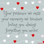 Quote: Forgetting You Never